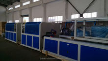 pvc deco profile extrusion line, pvc profile extrusion line