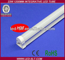 LED Tube Supplier Easy Installation Integrative led tube t8 6500k 23w e 1200mm 90-264VAC CE/RoHS
