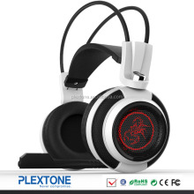 Factory Price Gaming headset headphone with separate mic 40mm game headphone with led light