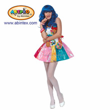 katy perry sweetie dress costume (12-069 ) as Halloween costume for lady with ARTPRO brand