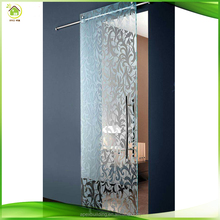 single track 3 panels balcony sliding tempered glass doors