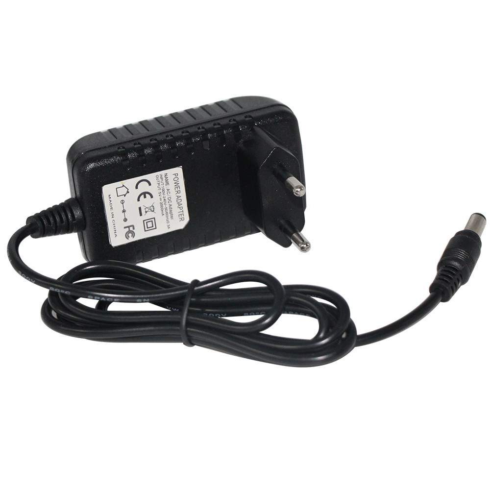 EU plug 100-240V AC to DC Power Adapter dc 5.5*2.1mm Charger Switching ac dc adapter 12v 1a power adapter