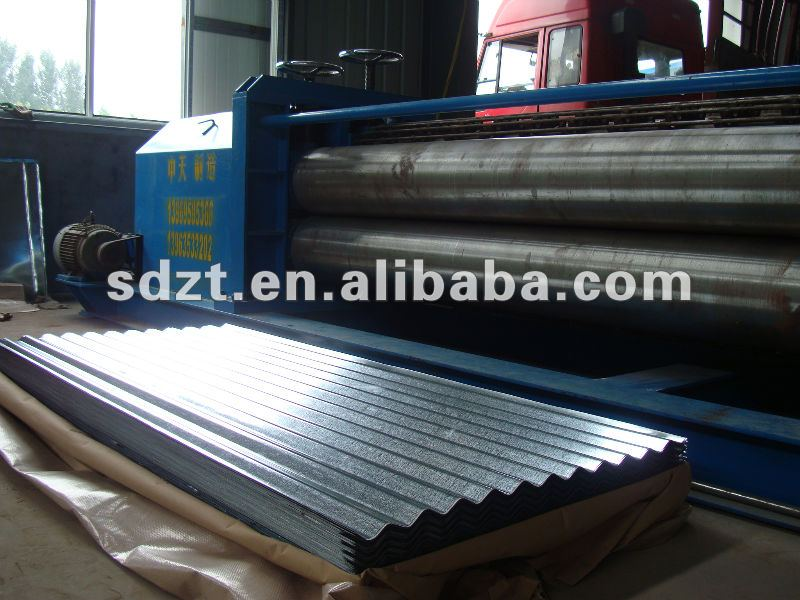 roofing material ASTMJ JIS GB concrete roof tile price high precision colour corrugated steel sheet