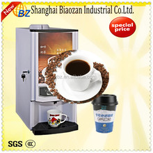 full automatic coin-operated type instant powder Coffee Machine/easy cleaning