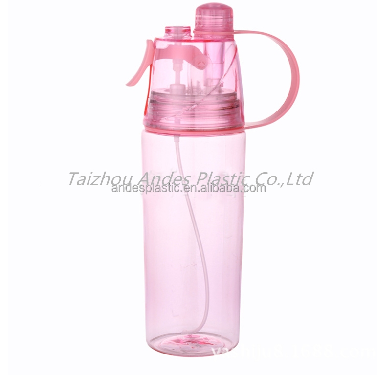 Creative BPA-Free plastice mist water bottles mist spray water bottle