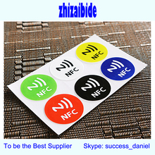 good quality programmable rfid nfc tag label sticker 38x26mm rectangle 13.56mhz 1k s50 access control