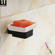 Easy Installation China Factory Bathtub Rubber Painting Zinc Alloy Dish Soap Holder
