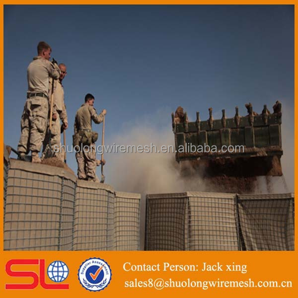 filled with sand recover geotextiles strong military hesco bag barriers price to hot sale