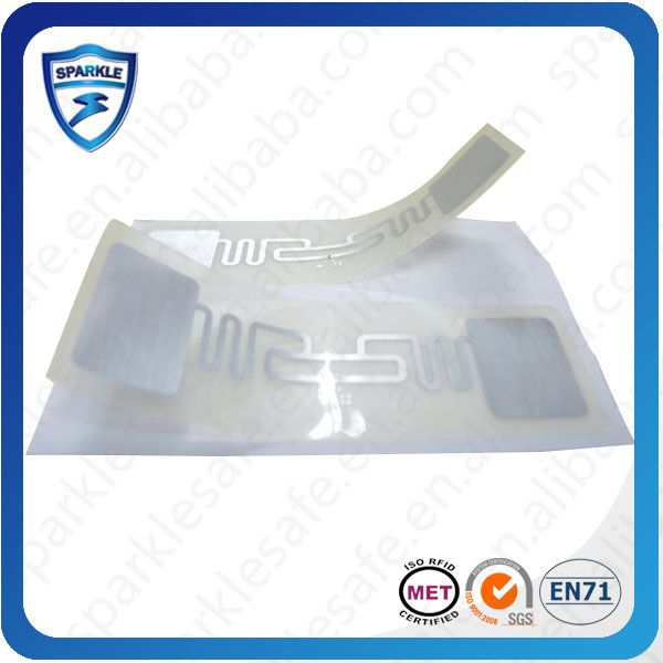 Newest!!!ISO18000-6c class gen 2 EPC uhf rfid label / uhf rfid tag for the marathon