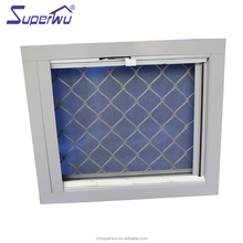 Superwu professional glass louvre window with aluminum profile frame