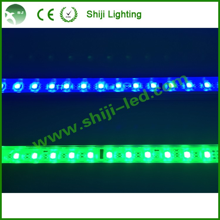 6803IC Aluminum housing 48leds/m led Pixel rigid bar