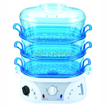 3 layers electrical food steamer