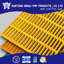 ho sale 1.5' square mesh frp fiberglass road grate for walkway flooring