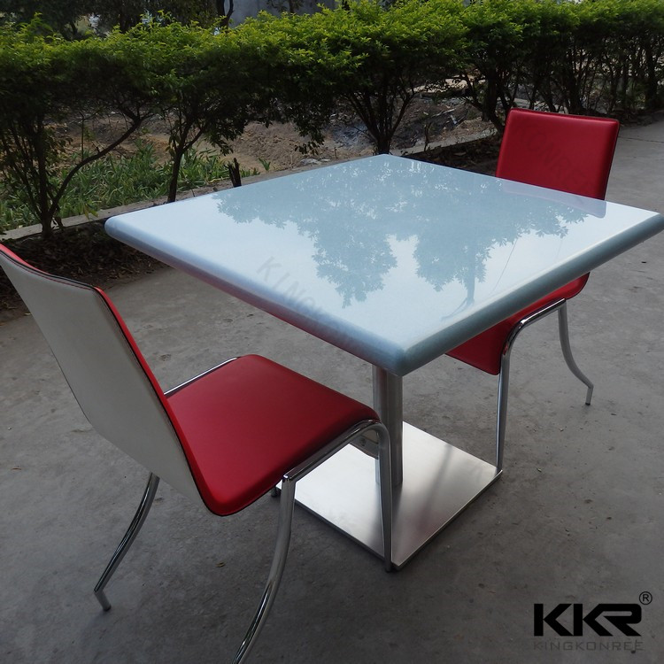 Royal used nautical dining tables with Stainless steel leg
