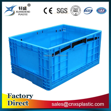 Good quality foldable plastic crate for industrial use