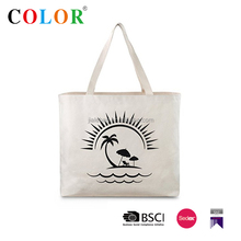 Natural Color Fashionabel 100% Cotton Canvas Tote Bags