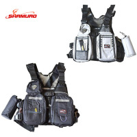 Men's High Quality Mesh Fly Fishing Vest Outdoor functional life vest wear