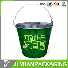 5L production of galvanized metal beer bucket whole sale