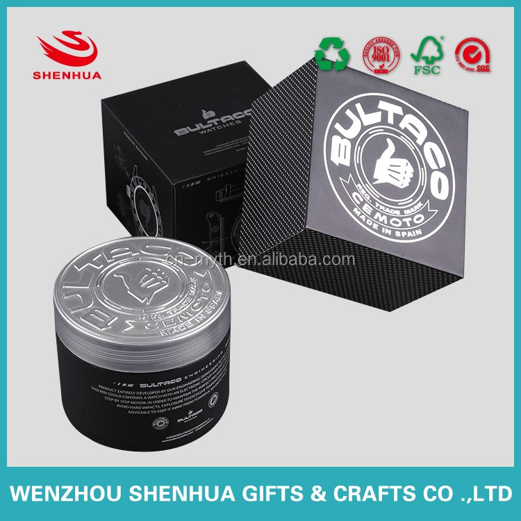 custom high quality watch jewelry box paper board with logo printing