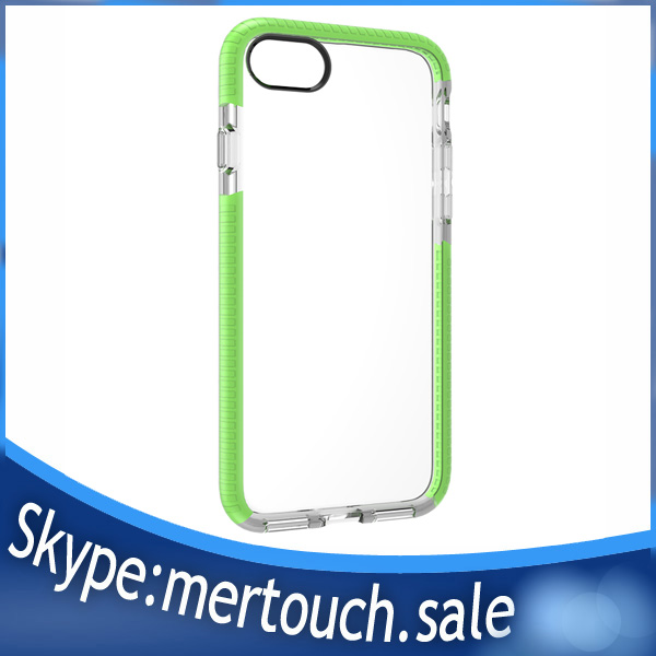 shockproof soft D30 Military material TPU clear case for iPhone 7 plus, For iPhone 7 TPU clear case
