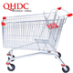Suzhou QHDC zinc plating large cart 210l shopping trolley