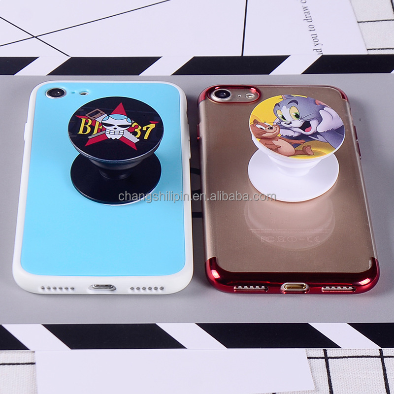 Customized logo pop mobile phone holders