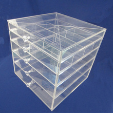 Acrylic Makeup Organizer Drawers Makeup Storage Box, Wholesale Acrylic Cosmetic Organizer Cosmetic Jewellery Display Case