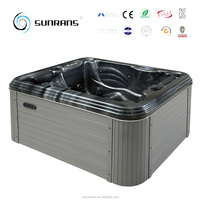 Top quality and cheap balboa acrylic jacuzzy 2 person outdoor spa hot tub