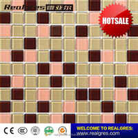 China good supplier Supreme Quality bright green swimming pool tile mosaic