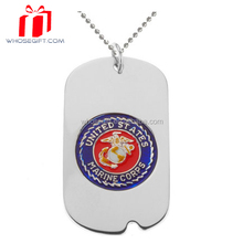 2015 Wholesale Custom Cheap Bulk Blank Dog Tag For Kids Pet Id Tag Bottle Opener Military Dog Tag With Ball Chain