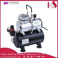 AS189 mini air compressor with tank airbrush air compressor 220v