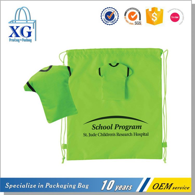 Best seller super quality jersey drawstring bag