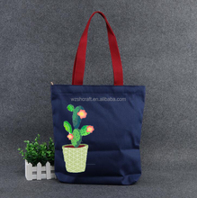 eco sublimation tote bag cotton canvas with full color printed