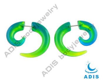New Hotest Wholesale Cheap Custom Acrylic Fake Spiral Taper