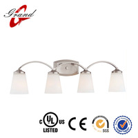 High Quality Brushed Nickel Four Light