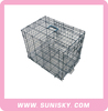 hot selling double door dog fold wire mesh cages