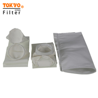 PPS corrosion resistant needled felt industrial smoke gas filter bag