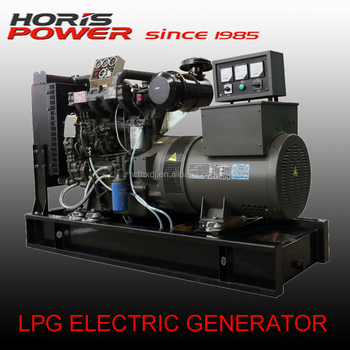 CE approved 10KVA-1250KVA lpg electric generator with CHP for using