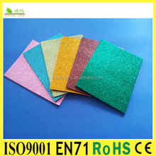 Cheap color eva foam sheet sticker&raw material