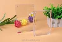 clear acrylic magnet photo picture frame