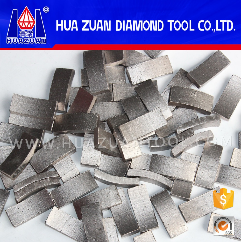 High quality diamond tipped core drill bit segment for sale