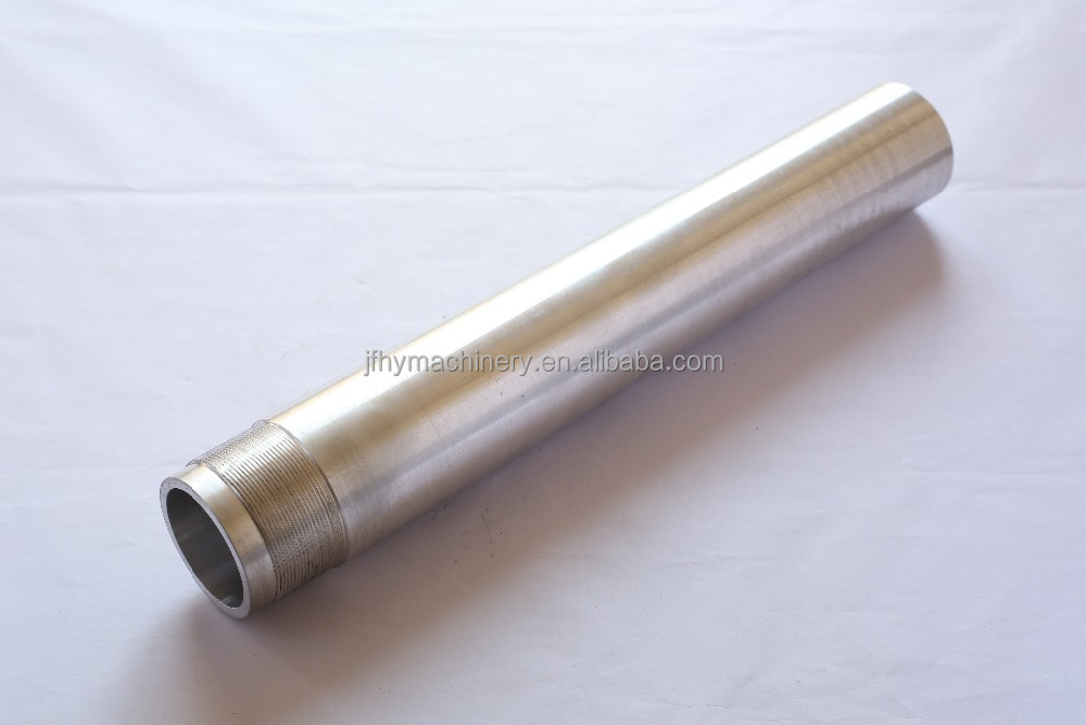 customized precision stainless steel sleeve and stainless steel threaded sleeve