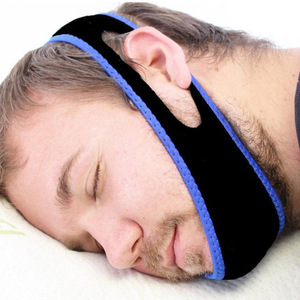 2018 Hot Selling Anti Snore Chin Strap, Neoprene Snore Stop Strap
