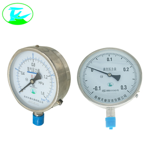 Selling seismic all stainless steel glycerin filled pressure gauge