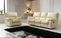 EA39 Living room leather recliner sofa for Foshan city furniture