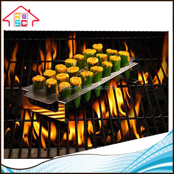 Barbecue Stainless Steel Chili Pepper Roasting Rack