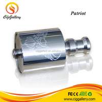 2014 High quality patriot tank full stainless steel patriot 2 atomizer