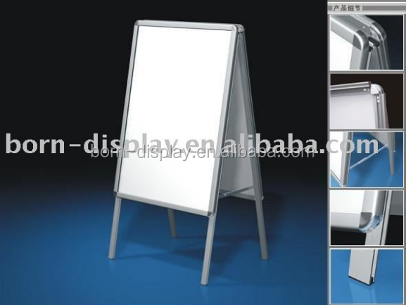 Trade Show Back Wooden Board Double Side for Symmetrical Display Poster Frame 24x36