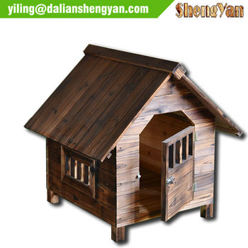Non-toxic Paint Unique Dog House Dog Cage Dog Kennel Wooden Pet House