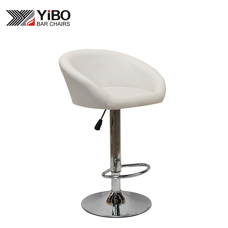 Hot Selling pu Leather Padded Seat Modern Bar Chair
